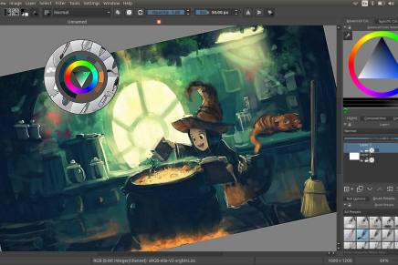 Krita, una potente programa de ilustración y diseño gráfico open source
