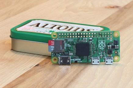 PiZero la Raspberry Pi de 5 dólares