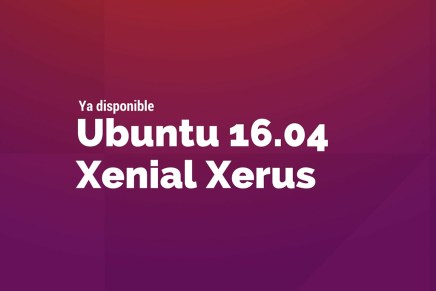 Disponible Ubuntu 16.04