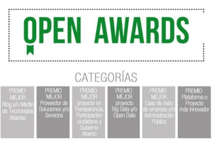 OpenExpo presenta los Open Awards