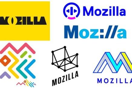 Uno de estos logos será el futuro de Mozilla y un unicornio puede morir.