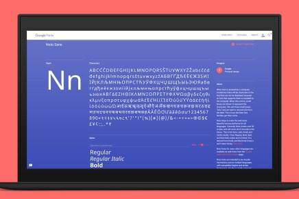 Noto, la tipografía open source de Google compatible con más de 800 lenguas