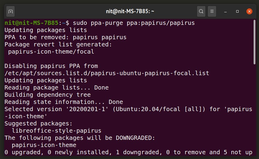 How To Safely Remove PPA Repositories in Ubuntu 5