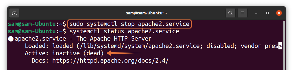 How to Disable a Service in Ubuntu? 5