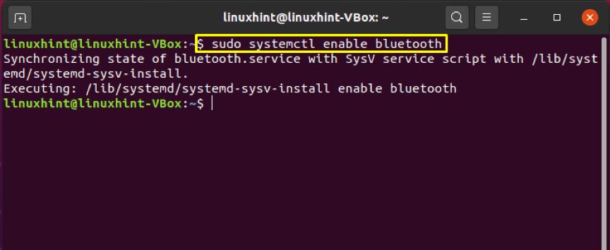 How to restart Bluetooth in Ubuntu? 3