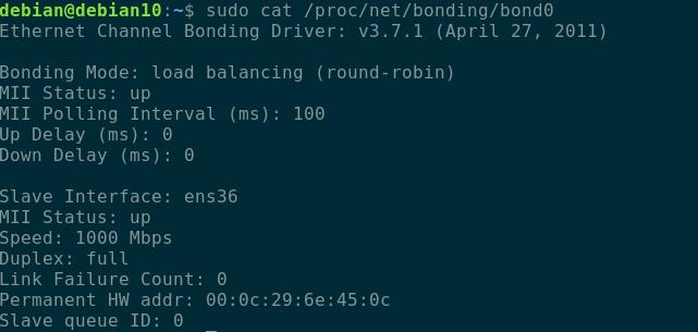 How to Set up Network Bonding Ubuntu 20.04 4