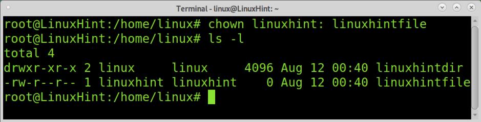 How to use Chown in ubuntu 4