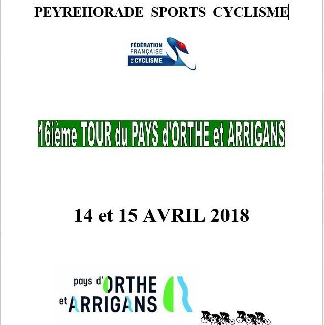 Le 16ième Tour du pays d'Orthe et Arrigans
