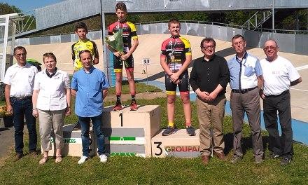 Dorian LAGRAVE champion des landes piste