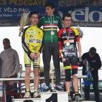 Sacha MOUSQUES 3ième du championnat des Landes minimes