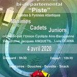 Championnat bi-départemental piste 40/64