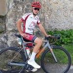 Clément sur le championnat de France route cadet
