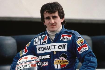 Bohater miesiąca Alain Prost