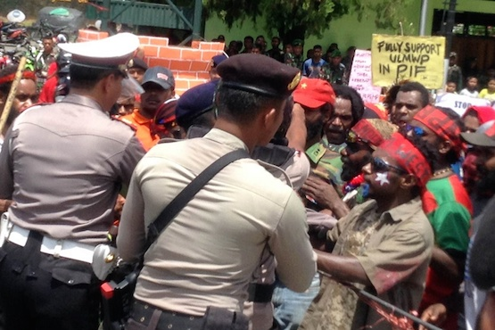 Catholic students call for an end to Papua conflict