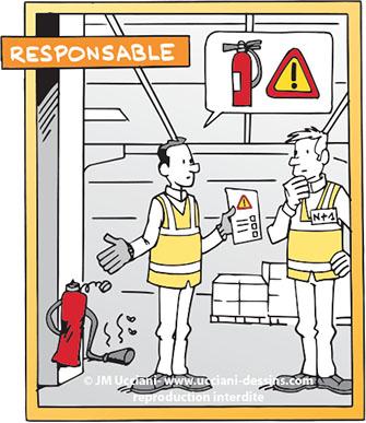 salarié responsable