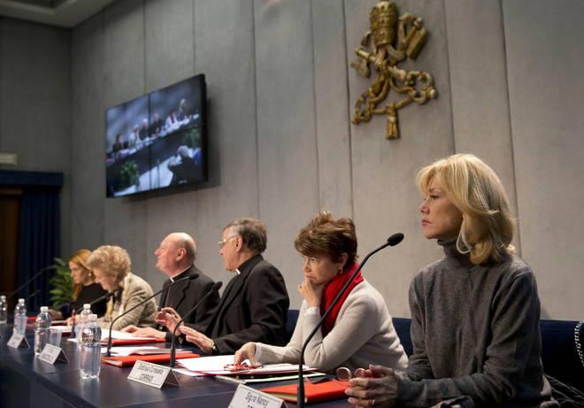 Conferenza stampa vaticano donne