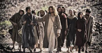 gesu con apostoli