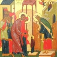 """Tîlcuirea Icoanei ,,Intrarea Maicii Domnului în Biserică"""""""
