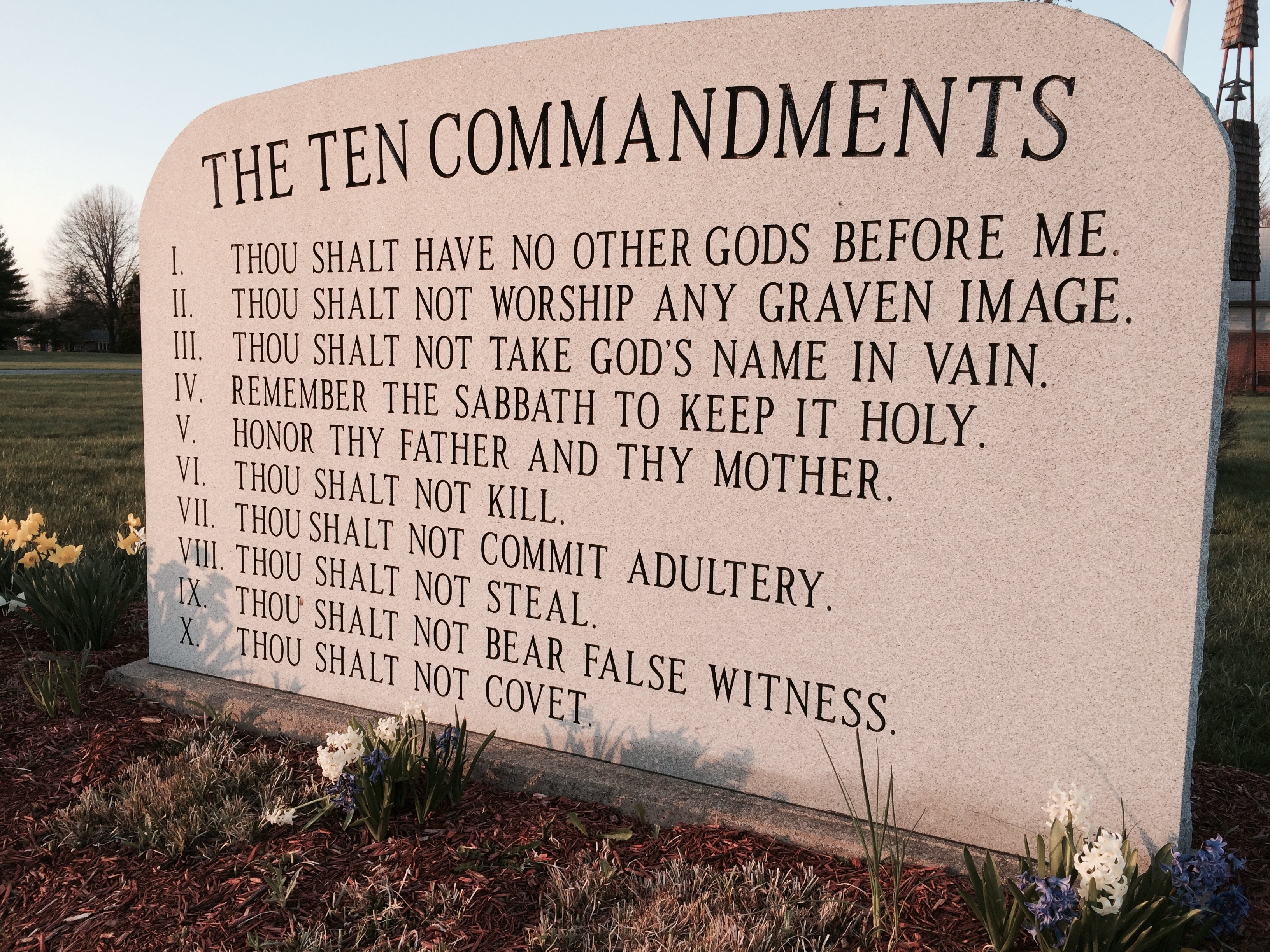 Ten Commandments List Where In The Bible Does It Talk