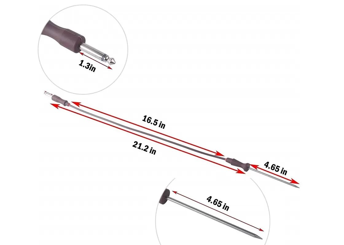 Meat Probe Thermometer Replacement Ntc Temperature Sensor