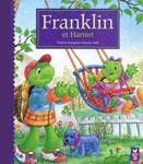 """Адаптированная книга на французском языке для малышей """"Franklin et Harriet / Франклин и Ариетта"""""""
