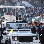 البابا فرنسيس يختتم زيارته للأرض المقدسة ويغادر إلى روما