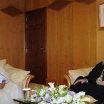 البطريرك يوحنا العاشر في زيارة حاكم الشارقة سلطان بن محمد القاسمي