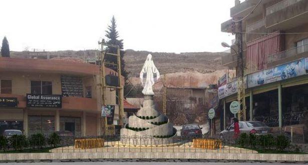 """""""ساحة مريم"""" في بعلبك ردّ حضاري لبنان واحة التعدّد في شرق يتصحّر"""