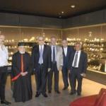 صفير زار متحف المعدنيات في حرم الجامعة اليسوعية