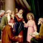 يسوع في الهيكل