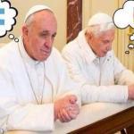 البابوان فرنسيس وبنديكتوس والمونديال