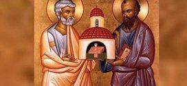 البابا فرنسيس يترأس القداس الإلهي احتفالا بعيد القديسين بطرس وبولس