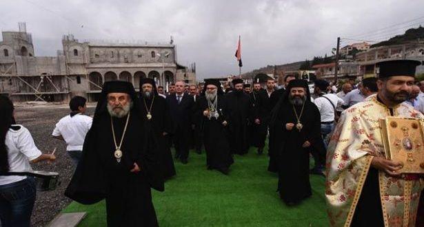 البطريرك يوحنا العاشر اختتم زيارته لوادي النصارى