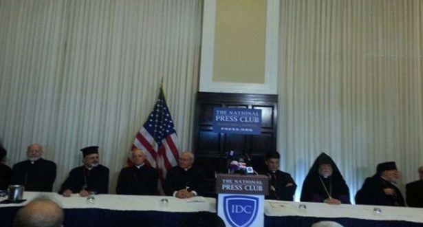 """مؤتمر """"الدفاع عن المسيحيين"""" يحضّ الدول على التحرّك الراعي: نحن الأصل في العراق وسوريا ومصر والأردن"""