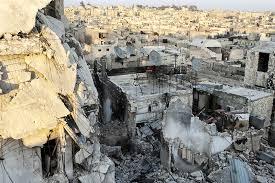 المرصد الآشوري : سقوط صاروخ على كاتدرائية الارمن الكاثوليك في حلب مسبباً اضرار مادية جسيمة