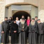 رئيس دير ستافرونيكيتا في اليونان زار أبرشية طرابلس والكورة