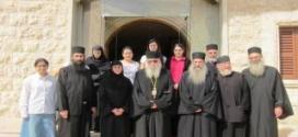 رئيس دير ستافرونيكيتا في اليونان زار أبرشية طرابلس والكورة للروم الارثوذكس