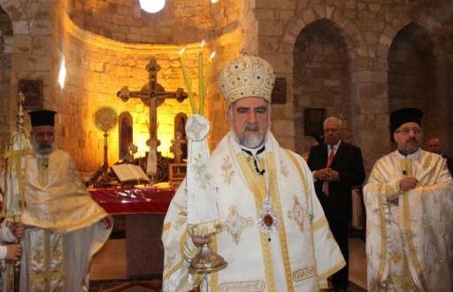 ابرص ترأس قداس عيد السيدة في صفد البطيخ بنت جبيل
