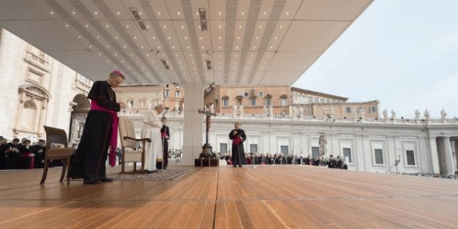 البابا فرنسيس يستقبل وفدا من المؤتمر العالمي للديانات من أجل السلام