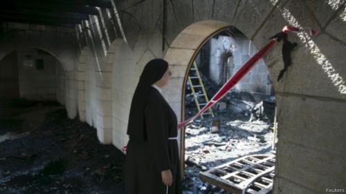 مقابلة مع الأخت ناديا من راهبات الوردية في غزة بشأن آخر التطورات الأمنية في القطاع