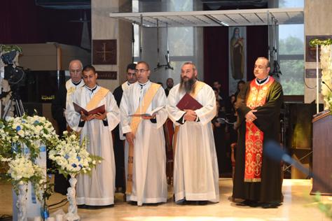 الرهبانيّة الأنطونيّة المارونيّة احتفلت بالرسامة الكهنوتية لثلاثة من رهبانها