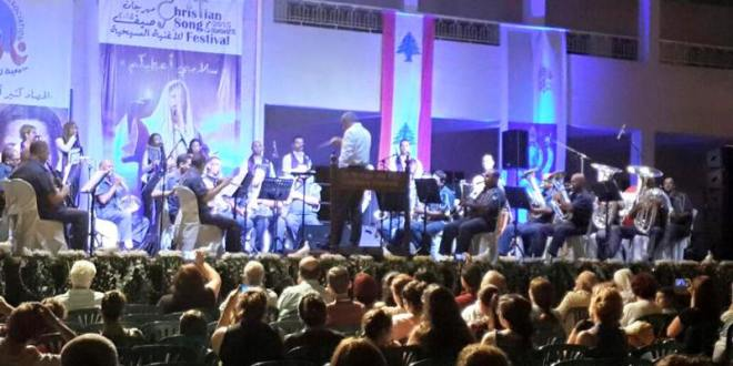 ريسيتال لاوركسترا الأمن الداخلي ضمن مهرجان الأغنية المسيحية