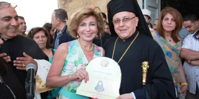 درويش اطلق ورشة ترميم كنيسة القديسين بطرس وبولس الأثرية في تل دنوب