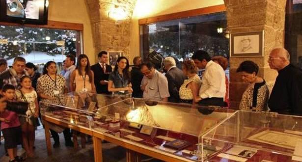 أرشيف وديع الصافي وتراثه في معرض بجبيل