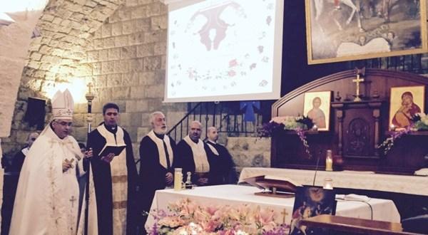قداس احتفالي في عيد القديسين سركيس وباخوس في اهدن