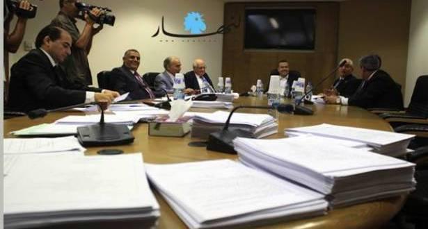 تنظيم الإعلانات في قانون الإعلام المقترح بين فضل الله وتويني وممثلي الشركات