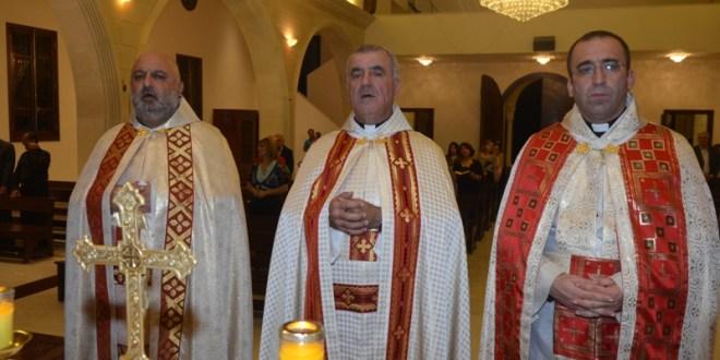 قداس إحتفالي في جدرا لمناسبة مرور 36 عاما على خدمة الأب القزي الكهنوتية