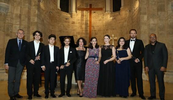 افتتاح الموسم الثاني لموسيقى الحجرة في الجامعة الأنطونيّة في كنيسة مار لويس للآباء الكبوشيين