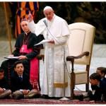 خطاب البابا فرنسيس إلى المشاركين في مسيرة الموعوظين الجدد