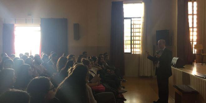 """""""لابورا"""" تنظم لقاءً توجيهياً في مدرسة العذارية – زوق مكايل"""